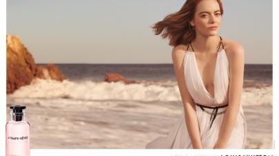 Louis Vuitton Emma Stone campagna Les Parfums: svelate le immagini