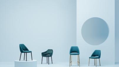 Pedrali sedie novità 2018: Vic chair e Fox soft, il tratto distintivo di Norguet