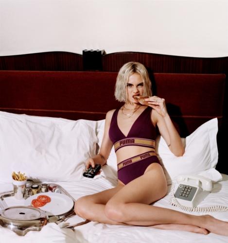 Puma Prettymuch Cara Delevingne collezione Bodywear autunno 2018: la campagna