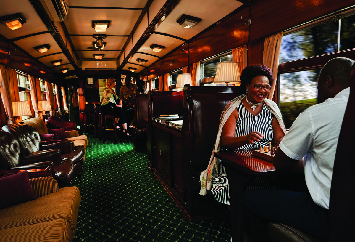 Sudafrica safari treno express 2018