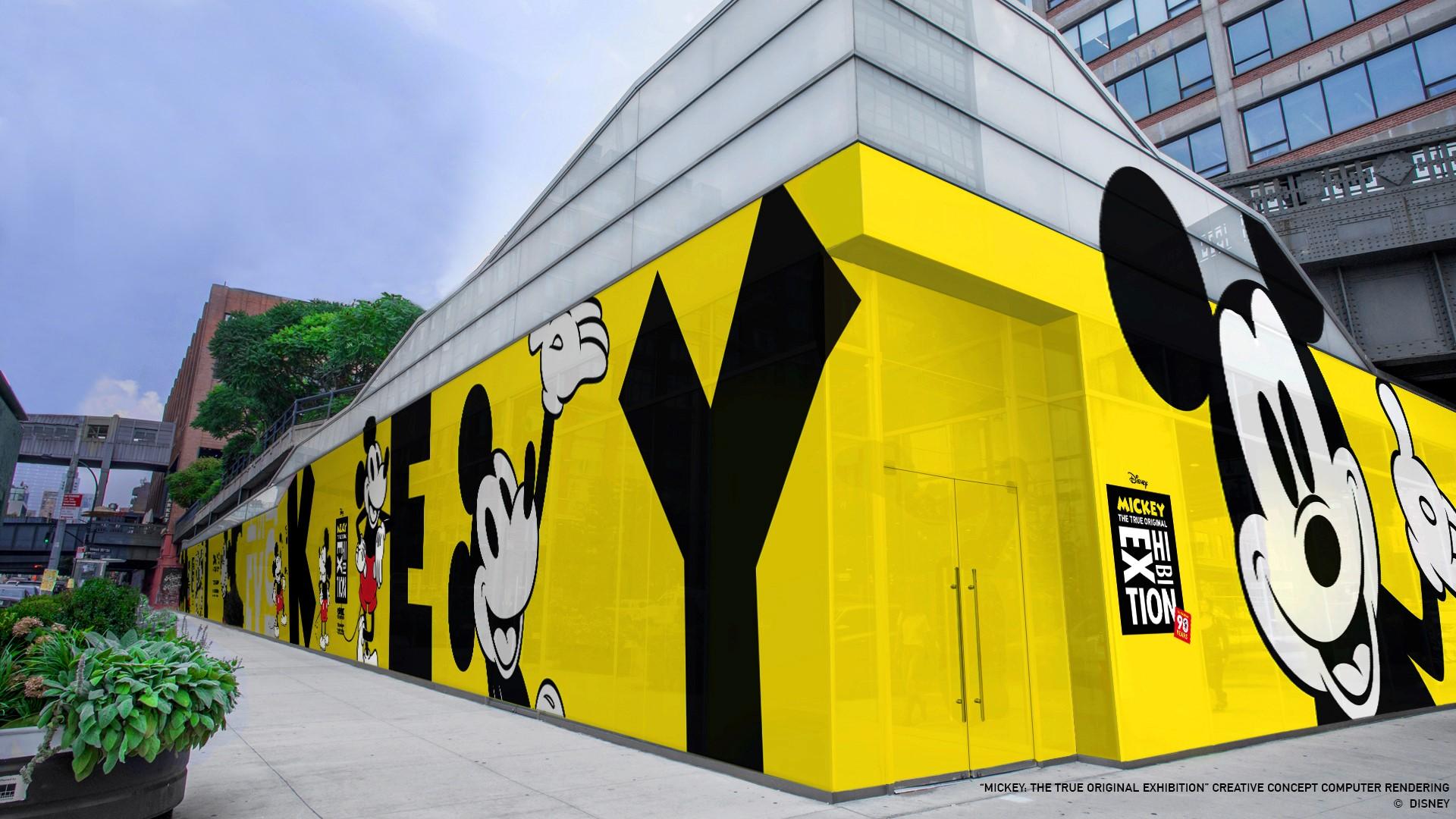 Topolino 90 anni mostra New York