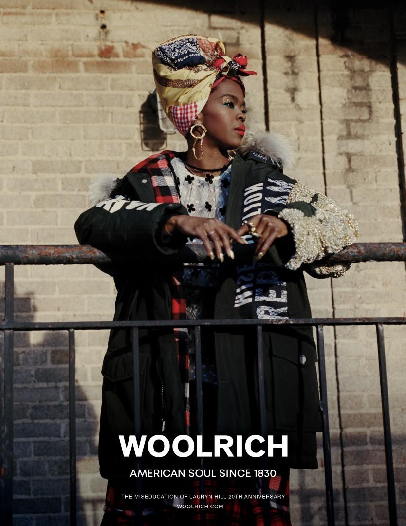Woolrich Lauryn Hill campagna autunno inverno 2018 2019