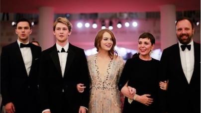 Festival Cinema Venezia 2018 red carpet La Favorita: Emma Stone e tutti i look delle star