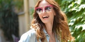 Salvatore Ferragamo occhiali da sole 2018: il modello Special Project Runway