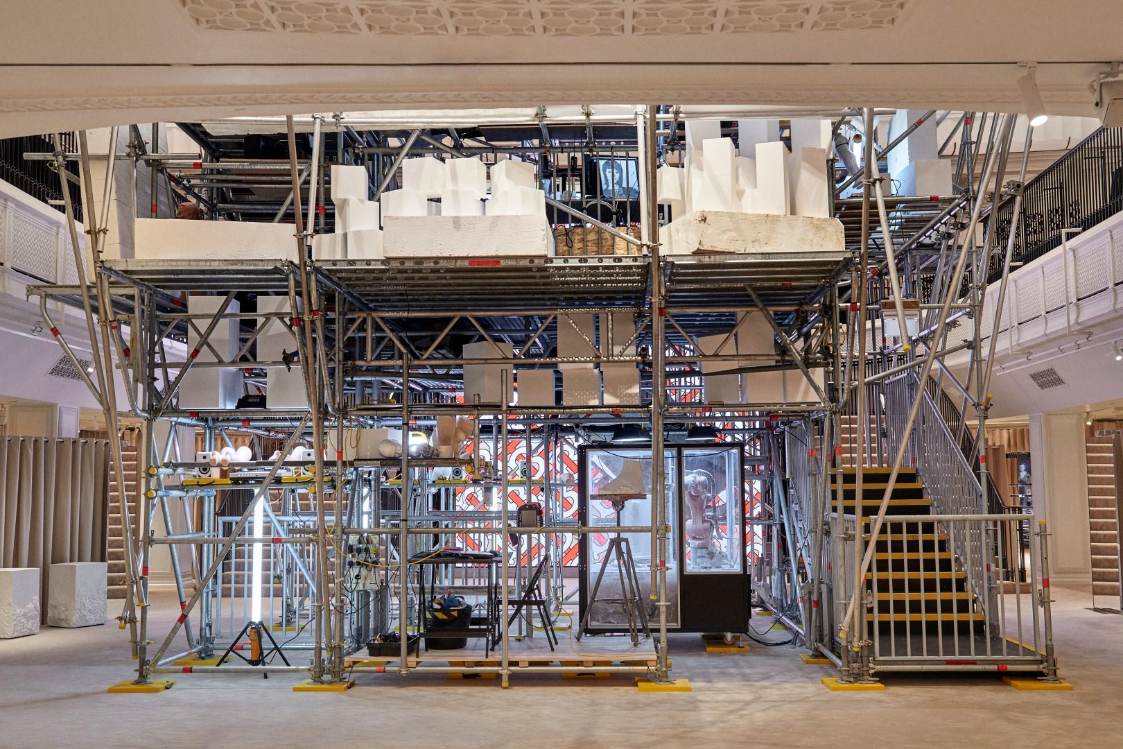 Burberry Londra 121 Regent Street flagship store