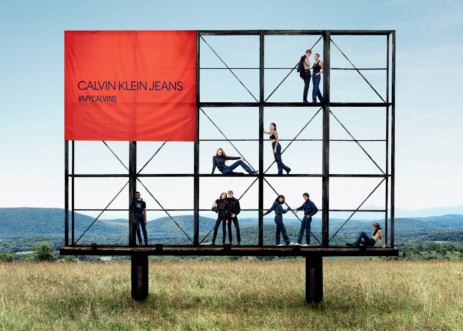 Calvin Klein Jeans campagna autunno inverno 2018 2019