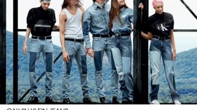 Calvin Klein Jeans campagna autunno inverno 2018 2019: protagonisti Kaia e Presley Gerber