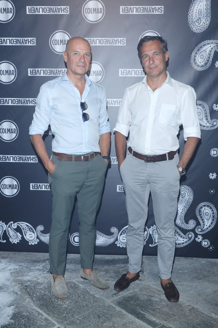 Colmar A.G.E. of Shayne Oliver party Milano