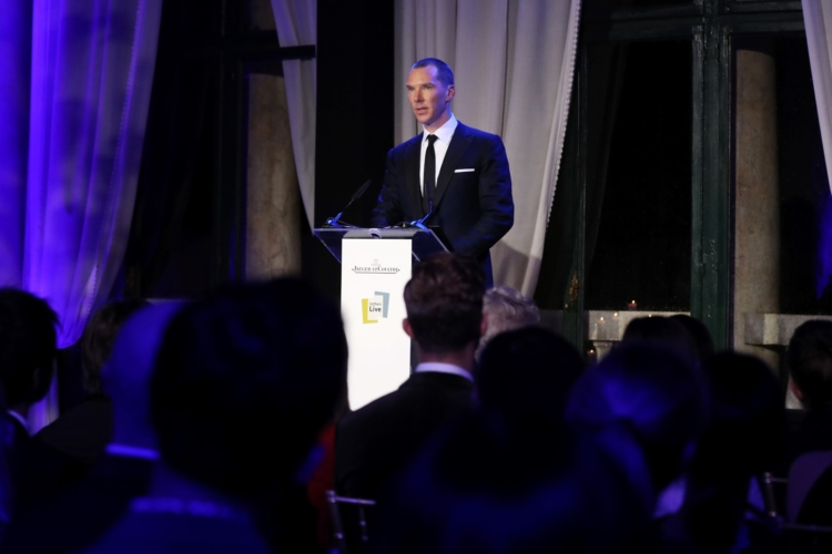 Festival Cinema Venezia 2018 Benedict Cumberbatch: la cena di gala di Jaeger-LeCoultre