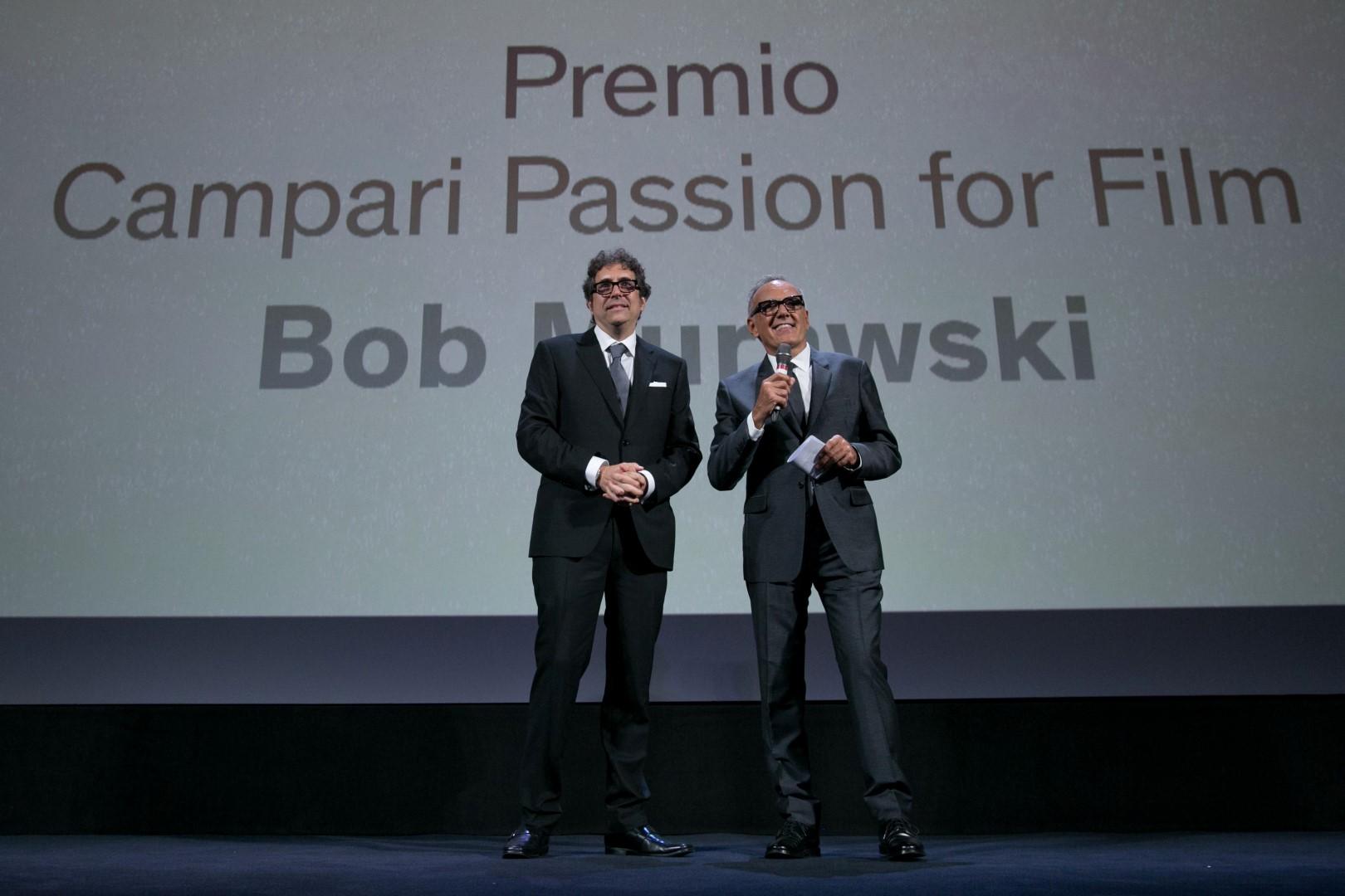 Festival Cinema Venezia 2018 Campari Passion for Film