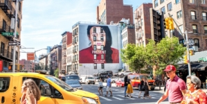 Gucci Art Wall Milano settembre 2018: The Artist is Present by Maurizio Cattelan