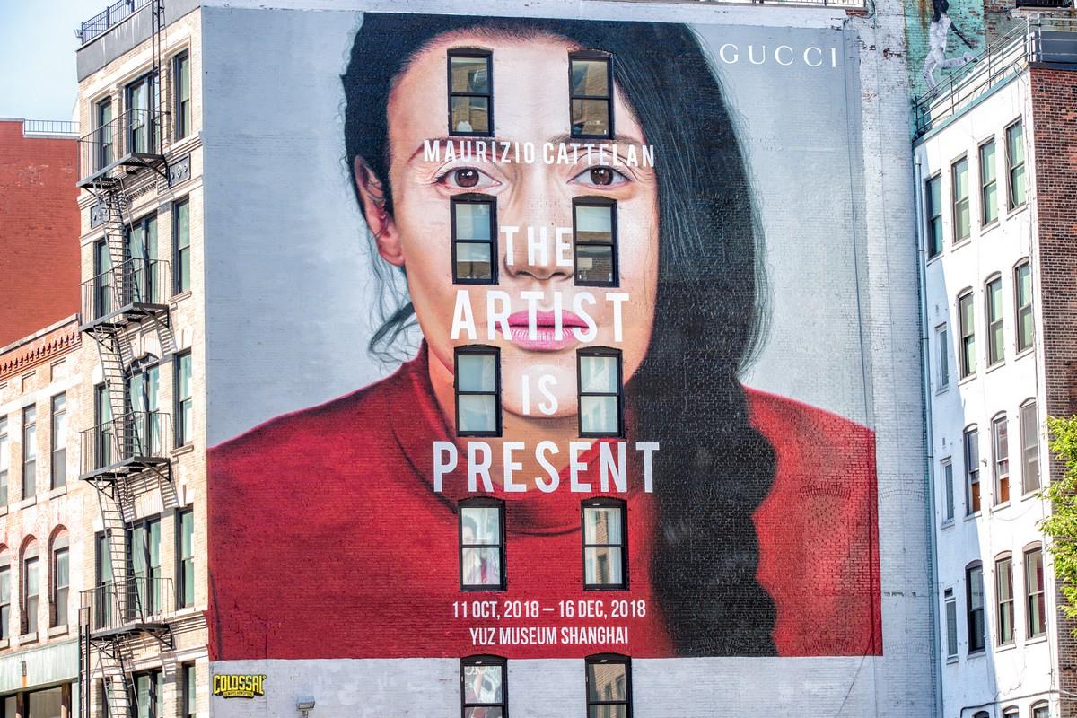 Gucci Art Wall Milano settembre 2018