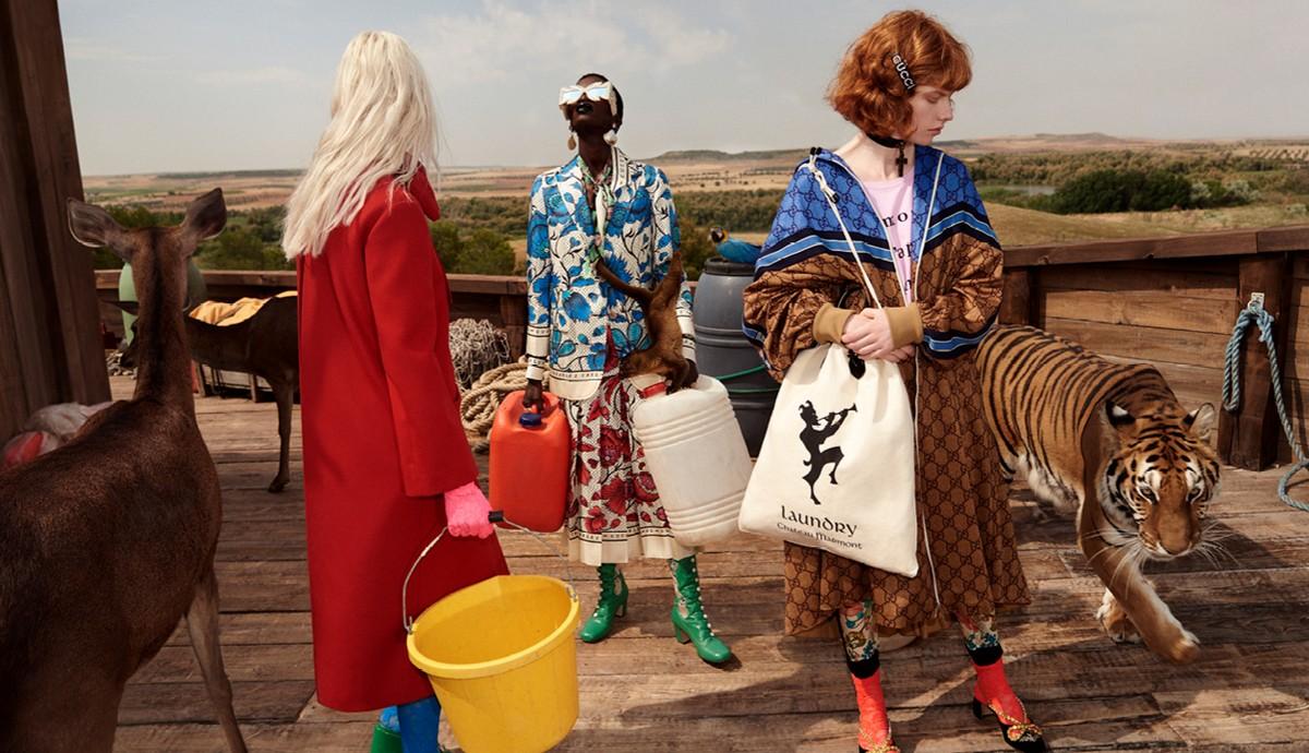 Gucci campagna Cruise 2019