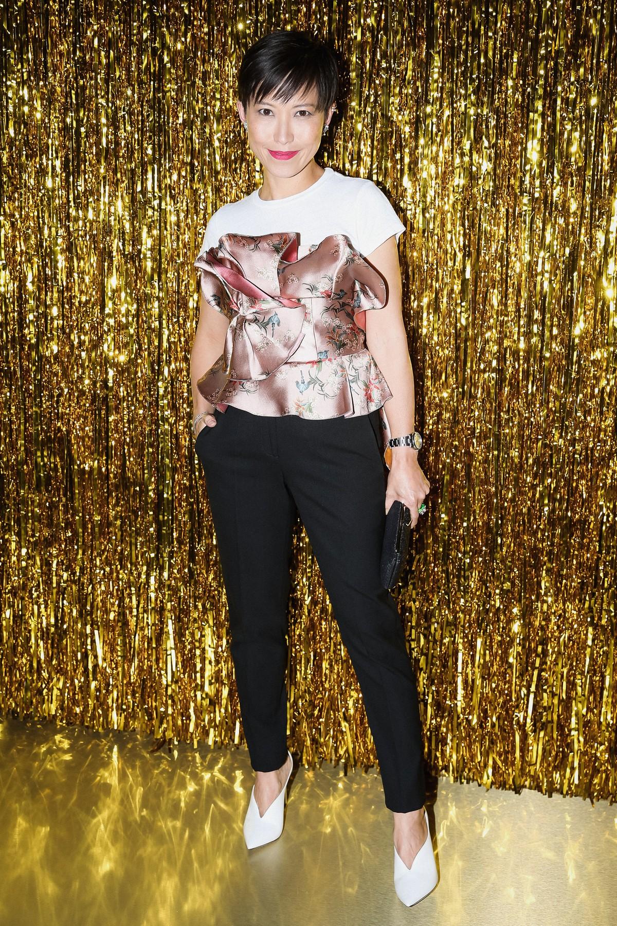 Jimmy Choo New York Fashion Week party 2018