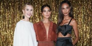 Jimmy Choo New York Fashion Week party 2018: Lily Aldridge, Joan Smalls e Rosie Huntington-Whiteley