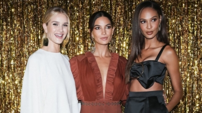 Jimmy Choo New York Fashion Week party 2018: Lily Aldridge, Joan Smalls e Rosie Huntington-Whiteley