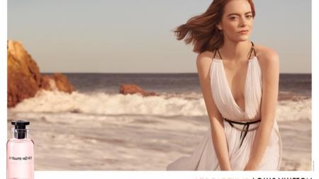 Louis Vuitton Emma Stone Les Parfums video: svelata la campagna con la regia di Sam Mendes