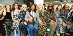 Michael Kors collezione primavera estate 2019: la sfilata, guest Nicole Kidman e Catherine Zeta-Jones