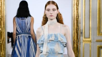 Moda donna primavera estate 2019 Rahul Mishra: il lusso del bianco