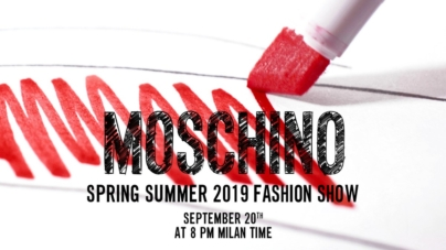 Moschino sfilata primavera estate 2019 Live Streaming: la diretta video su Globe Styles