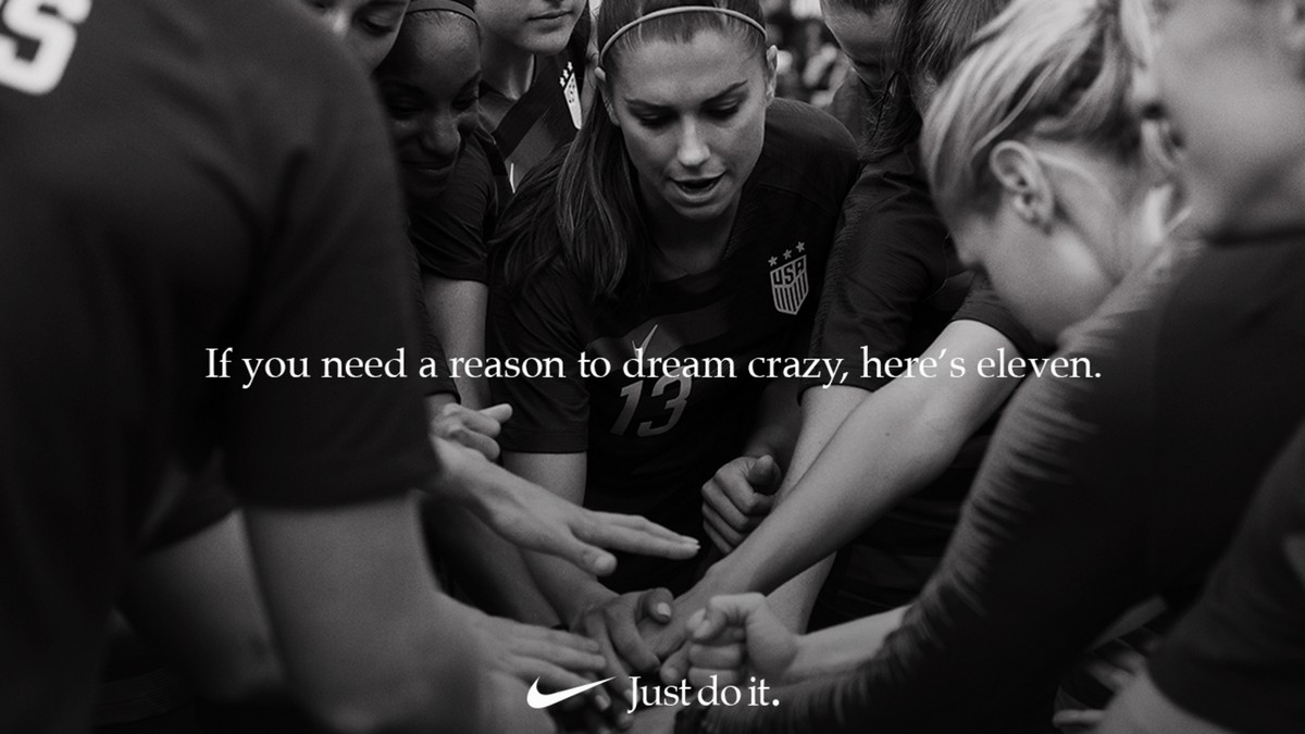 Nike Just Do It campagna 2018