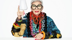 Nude Iris Apfel campagna: Simple is Beautiful