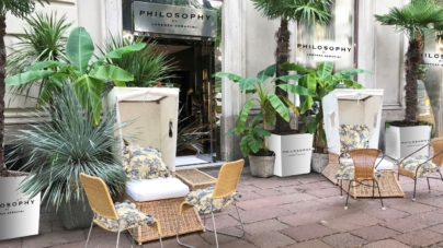 Philosophy di Lorenzo Serafini Tearose Milano: il pop-up speciale per la Fashion Week