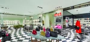 Prada Milano via della Spiga: i nuovi spazi dedicati alle collezioni femminili