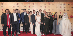 Romolo + Giuly la guerra mondiale italiana serie Fox: il party a Roma