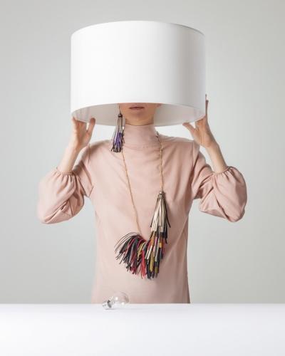 Tendenze accessori autunno inverno 2018 2019 quesQUELLO: scenografici collier e raffinati bracciali