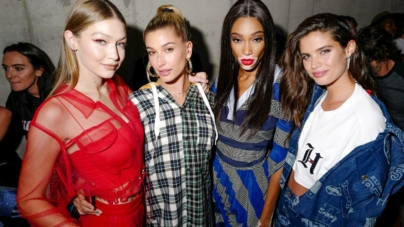 Tommy Hilfiger New York Fashion Week party Lewis Hamilton: Nicki Minaj, Hailey Baldwin e Gigi Hadid