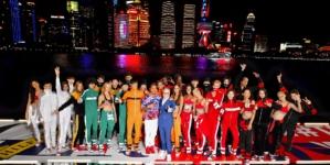 Tommy Hilfiger sfilata Shanghai Tommynow Icons: Lewis Hamilton, Hailey Baldwin e Winnie Harlow