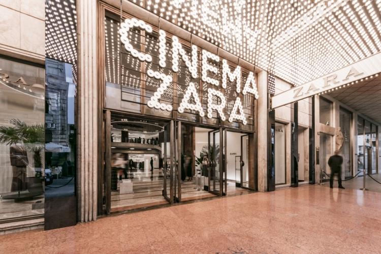 Zara Corso Vittorio Emanuele Milano riapertura: tutte le foto del party