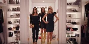 Jimmy Choo campagna autunno inverno 2018 2019: il video con Joan Smalls, Lily Aldridge e Rosie Huntington-Whiteley
