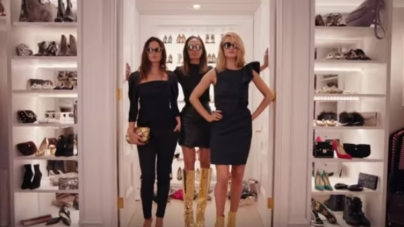 Jimmy Choo campagna autunno inverno 2018 2019: il video con Joan Smalls, Lily Aldridge e Rosie Huntington-Whiteley