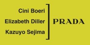 Prada Invites primavera estate 2019: l'iconico Nylon interpretato da Cini Boeri, Elizabeth Diller e Kazuyo Sejima