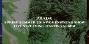 Prada Sfilata Primavera Estate 2019 Live Streaming: la diretta video