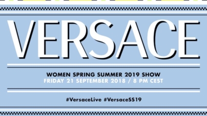 Versace sfilata primavera estate 2019 Live Streaming: la diretta video