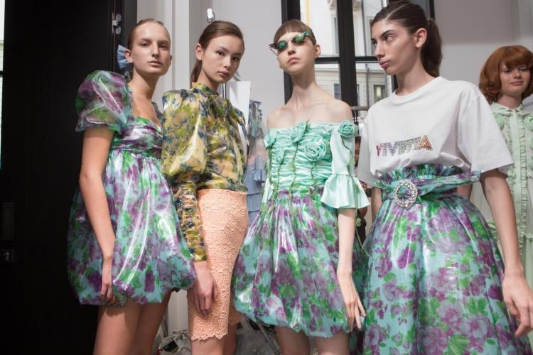 Vivetta primavera estate 2019: il glam eccentrico e fiabesco