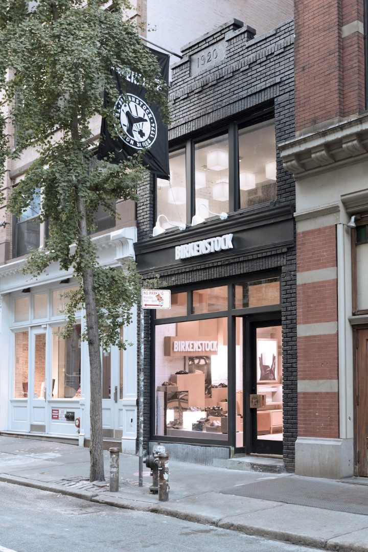 Birkenstock New York boutique