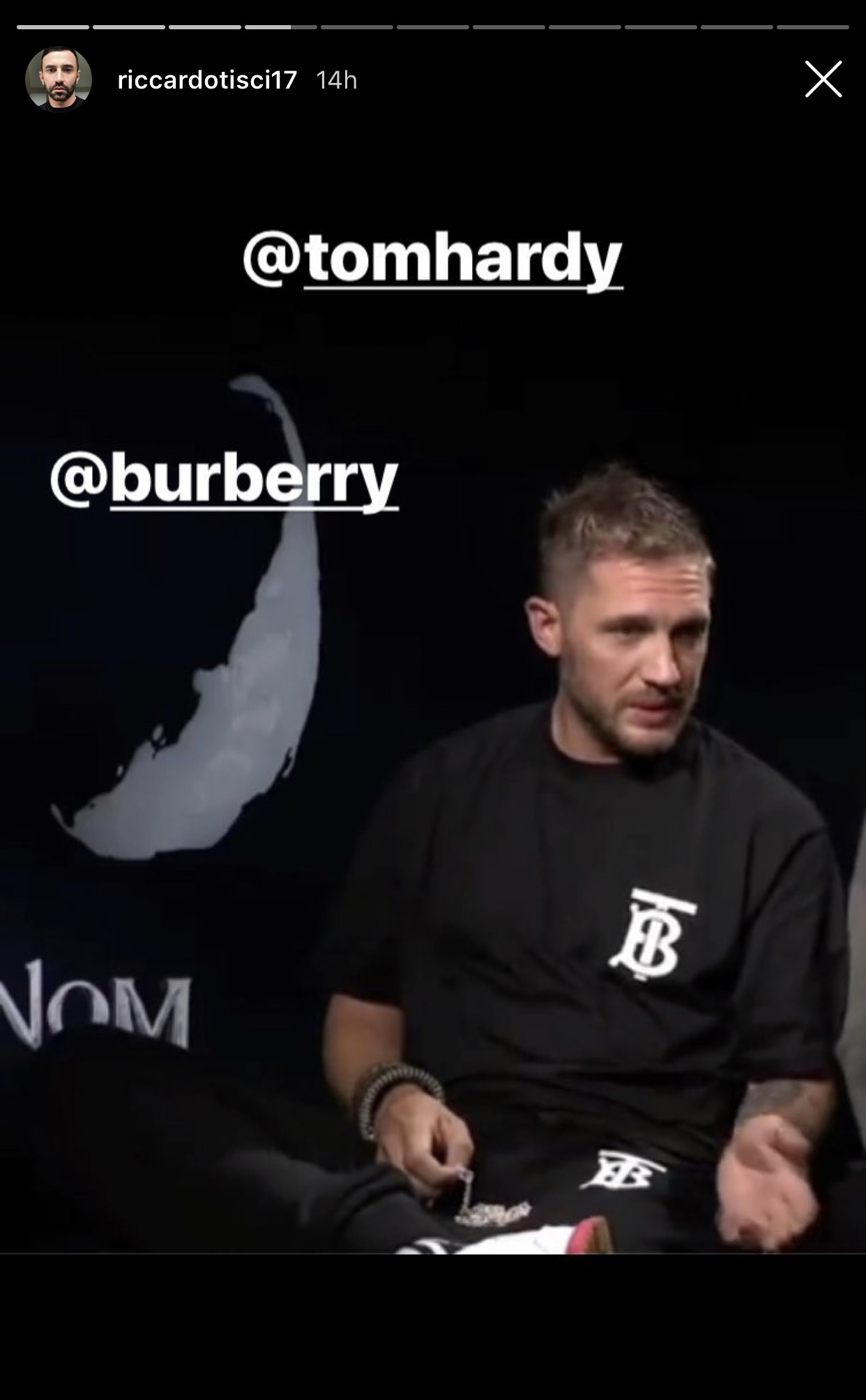Burberry B Series T-Shirt