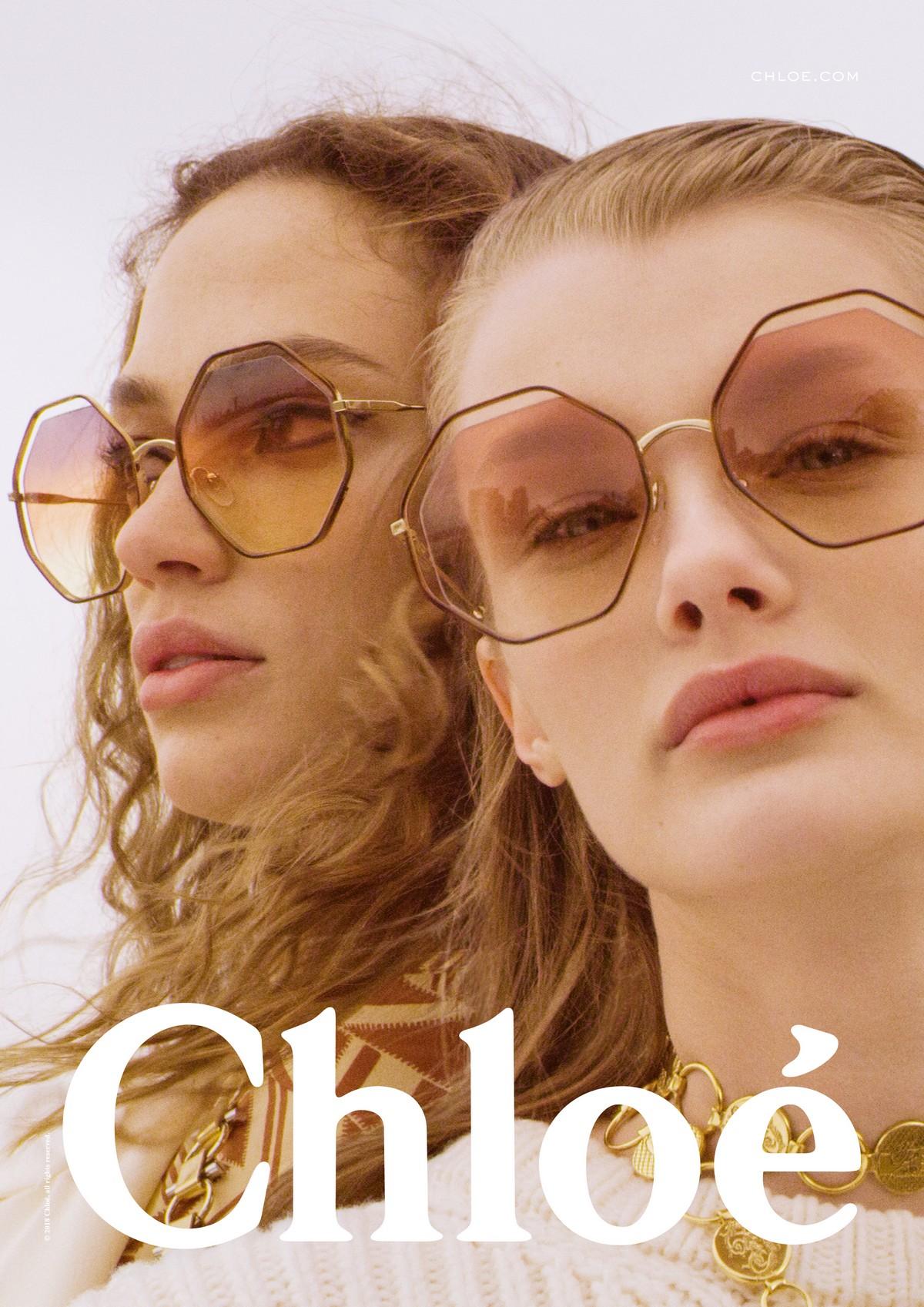 vendita outlet 51755 8fbed Chloé occhiali da sole autunno inverno 2018 2019 | foto ...