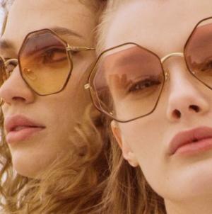 Chloé occhiali da sole autunno inverno 2018 2019: il nuovo modello Poppy Petite