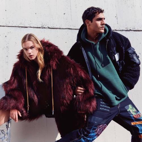 Diesel cappotti autunno inverno 2018 2019: un melting pot di sport, colori e grafiche