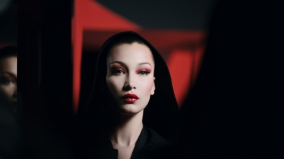 Dior make up Halloween Bella Hadid 2018: la seduzione del mistero