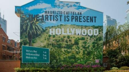 """Gucci ArtWall Shanghai Ottobre 2018: il nuovo murales """"The Artist Is Present"""""""