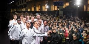 Juventus adidas Milano Here to Create: bagno di folla per il team bianconero