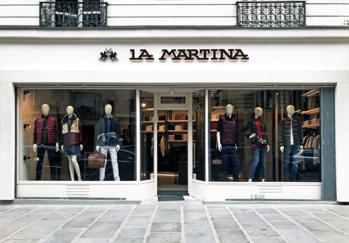 La Martina Parigi boutique: aperto il nuovo flaghsip store