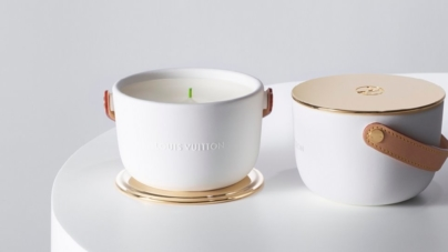 Louis Vuitton collezione candele profumate: quattro fragranze e il design firmato Marc Newson