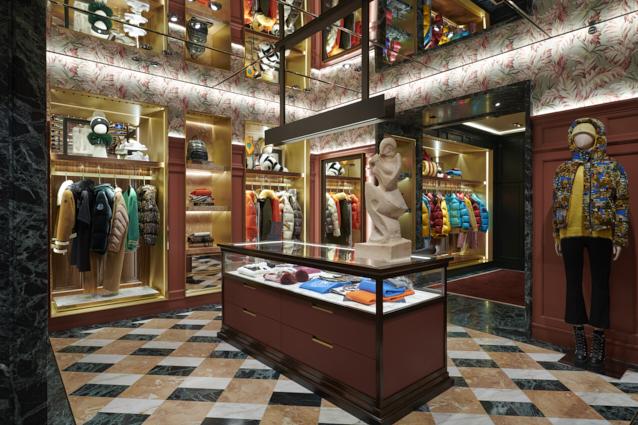 Moncler Londra Sloane Street: la nuova boutique progettata da Gilles & Boissier